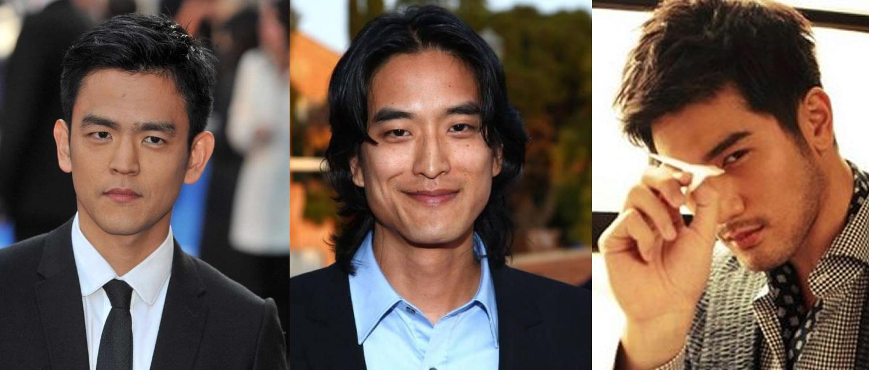 (left to right) John Cho, Jack Yang, Godfrey Gao