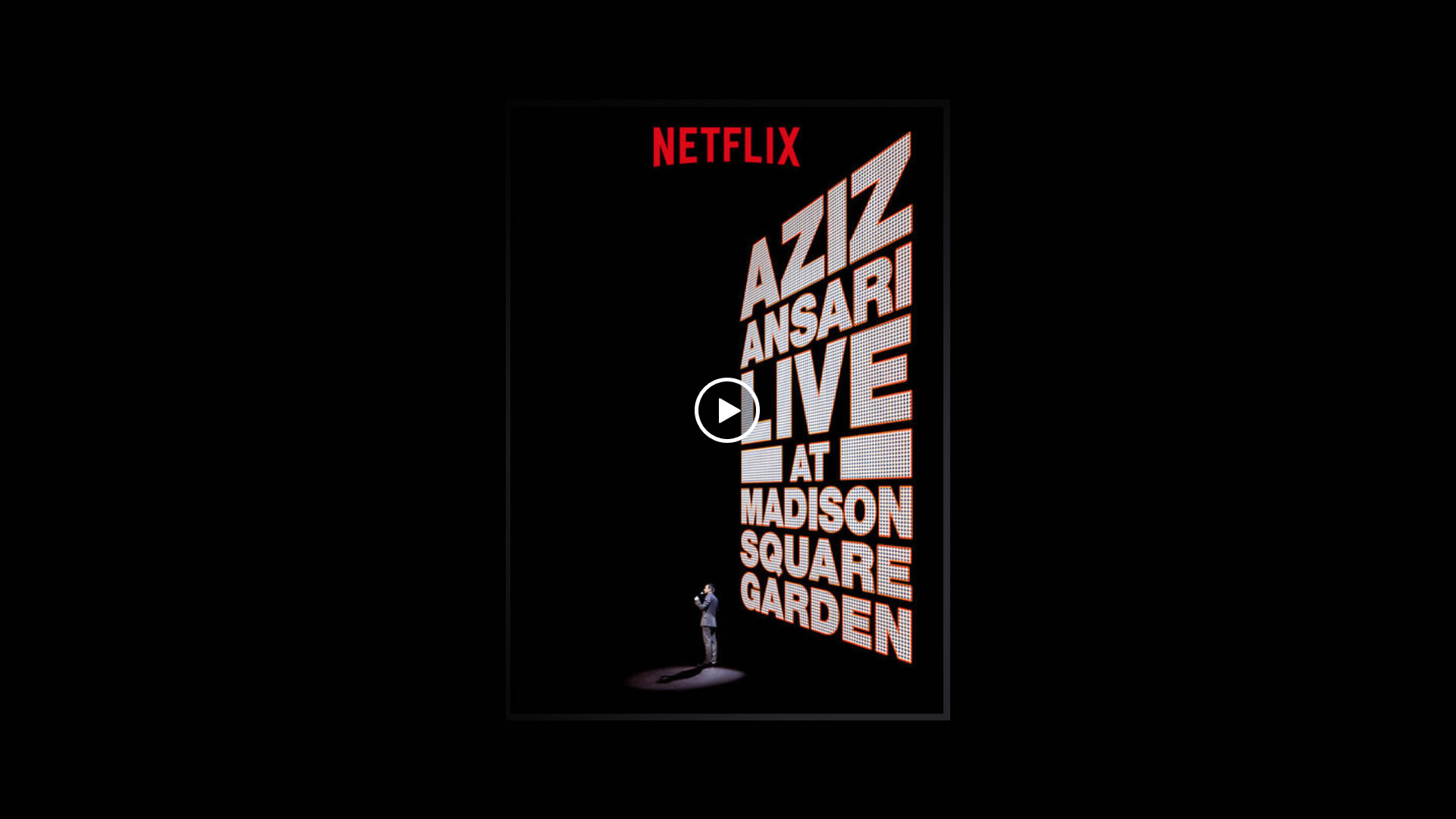 Watch Aziz Ansari Live at Madison Square Garden