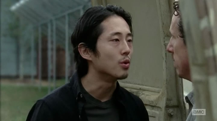 No, Nicholas, Glenn doesn't want to kiss you.