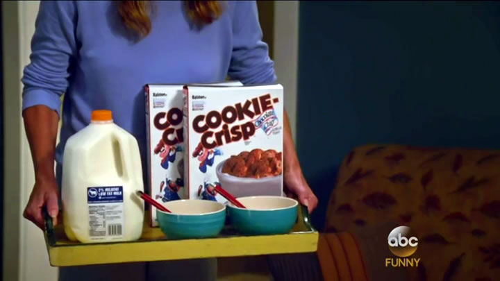 """Cereal made out of little cookies!"""